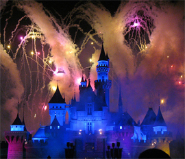 Disneyland Hong Kong - Fireworks Picture ® Denise Chan